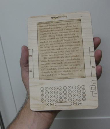 Kindle de madera